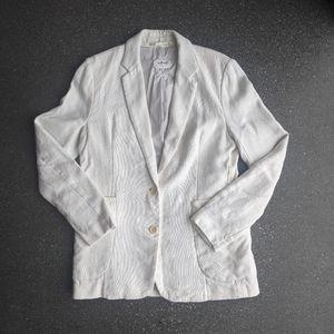 Aritzia Wilfred Linen Blazer - Size 8